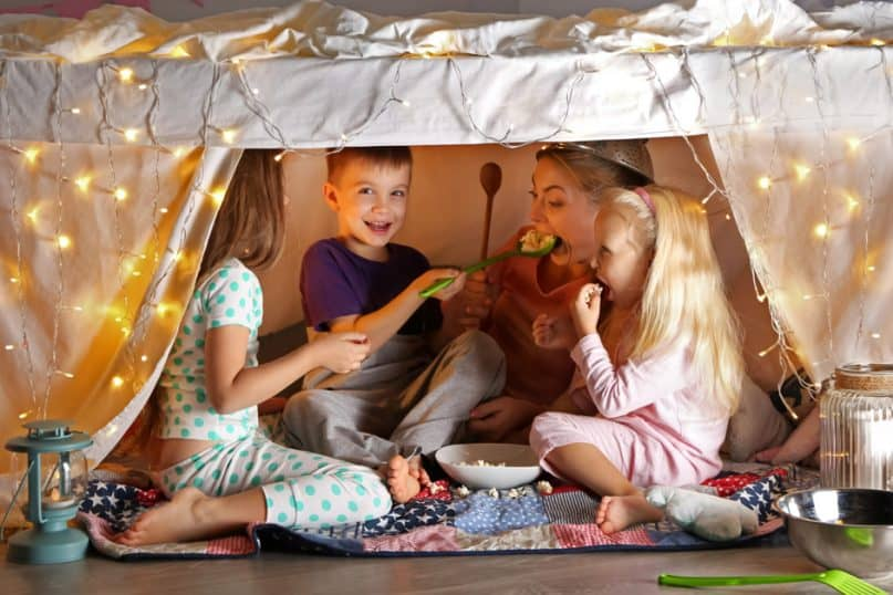 Best DIY Ideas to Make Indoor Camping Fun for Your Family!