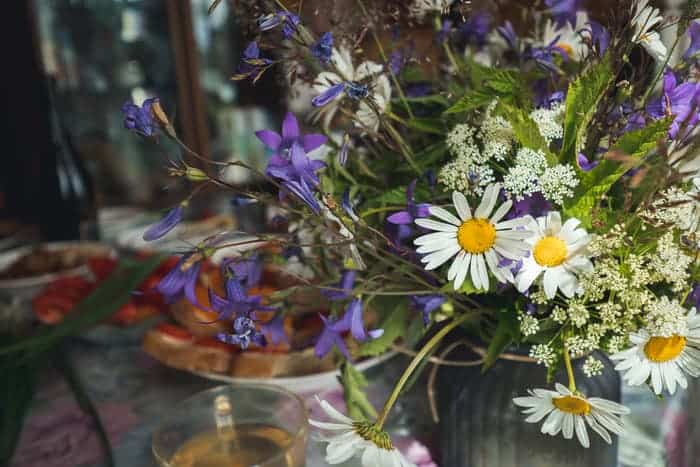Fresh Flowers on Your Table