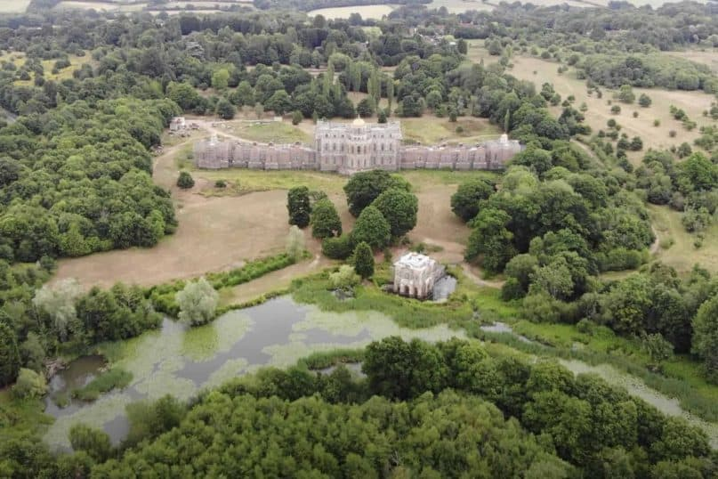 The £40 million Hamilton Palace is an abandoned building