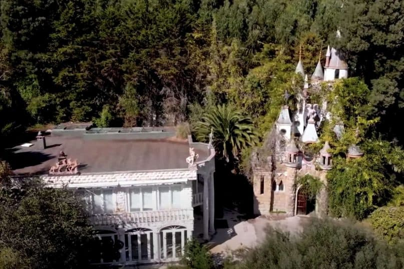 A Disney castle in the jungles of Portugal
